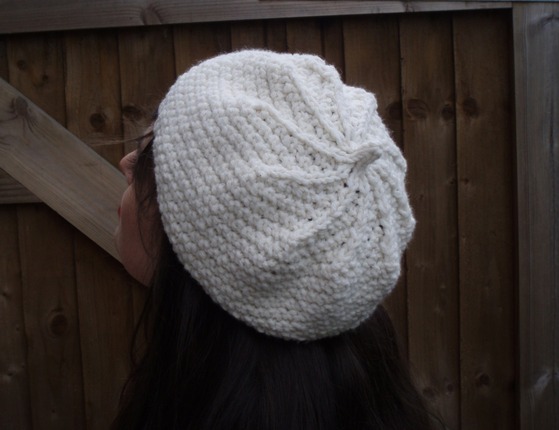 Kildare Beret - Back View