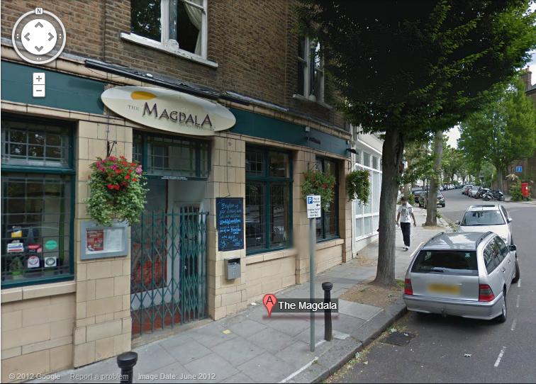 Magdala Pub Google Maps Image