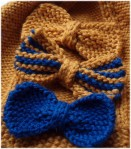 knitted bows