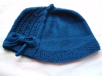 Uppingham Hat with Blue Skinny Bow