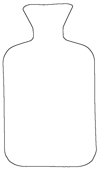 Hot Water Bottle Croquis
