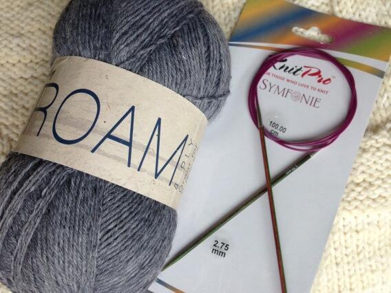 Yarn and Needles and Mag!