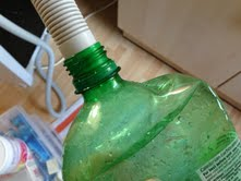 Dishwasher Waste Hose Exactly Fits 2L Fizzy Drinks Bottle