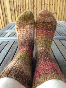 Mrs Queen's Primrose Path Socks